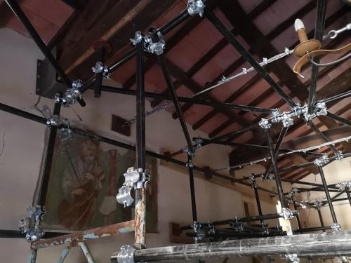 Cassino / 4 ottobre 2018 Messa in sicurezza della Chiesa di S. Lorenzo Martire